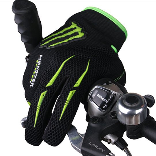 2012-Cycling-Bike-Bicycle-FULL-finger-gloves-Size-M-XL